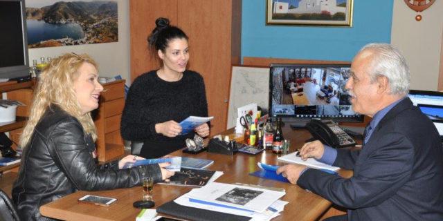 Νέα ταινία στην Αμοργό με πρωταγωνίστρια την Μαρία Κορινθίου