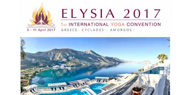 Elysia 2017 - Ξεκίνησε το 1ο Διεθνές Συνέδριο Γιόγκα στην Αμοργό