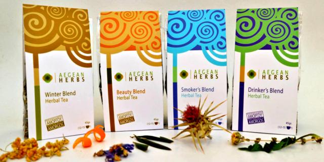 Aegean Herbs: Τα αμοργιανά βότανα που ταξιδεύουν έως την Ελβετία!