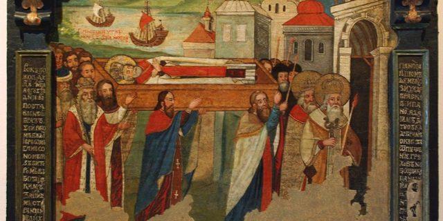 Στον Ασφοντυλίτη λειτουργία προς τιμήν της Ανακομιδής του ιερού λειψάνου του Αγίου Νικολάου
