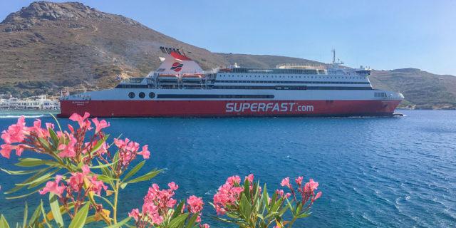 Superfast XII: Ξεκίνησε χθες τα δρομολόγια του για Αμοργό