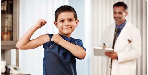 Δελτίο τύπου για τα ατομικά δελτία υγείας των παιδιών