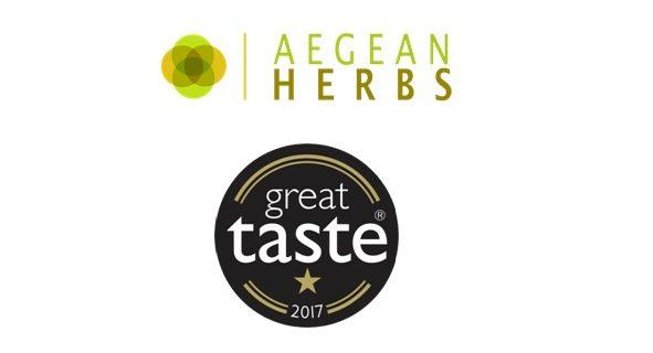 """""""Όσκαρ γεύσης"""" στα αμοργιανά βότανα Aegean Herbs"""