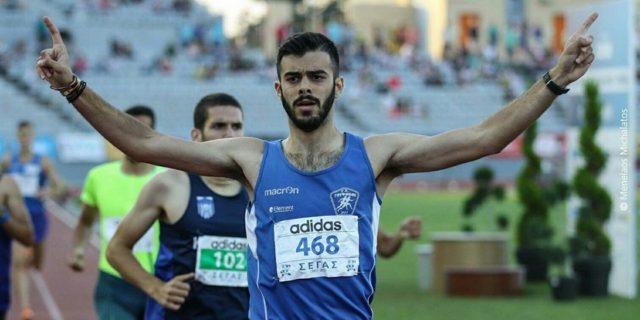 Θάνος Καλάκος: Ο Αμοργιανός πρωταθλητής στίβου εφήβων στα 800 μέτρα!