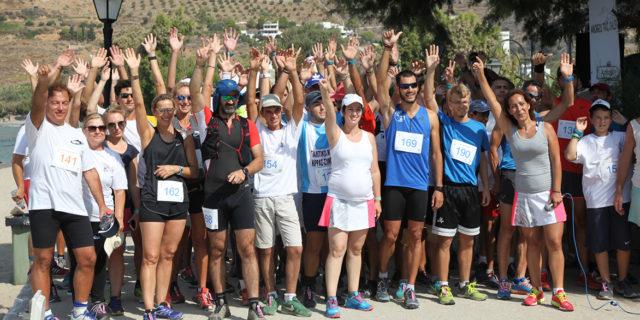 Ενθουσιασμός, επιτυχία και ικανοποίηση για το πρώτο Amorgos Trail Challenge!