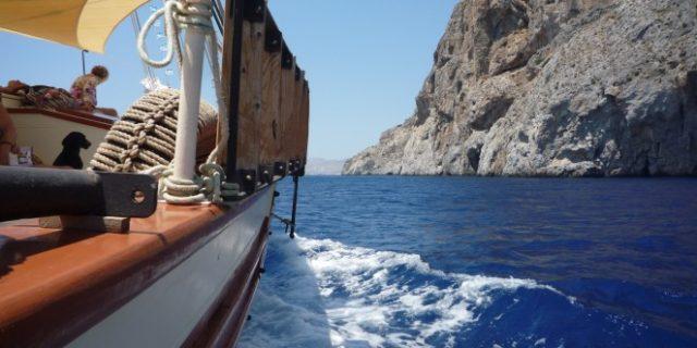 Εξόρμηση στο απέραντο γαλάζιο με την Μοργκάν, το ελληνικό παραδοσιακό ιστιοφόρο