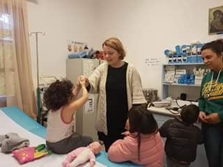 Στις 16:00 η συνάντηση με τη νέα παιδίατρο του Κέντρου Υγείας Αμοργού