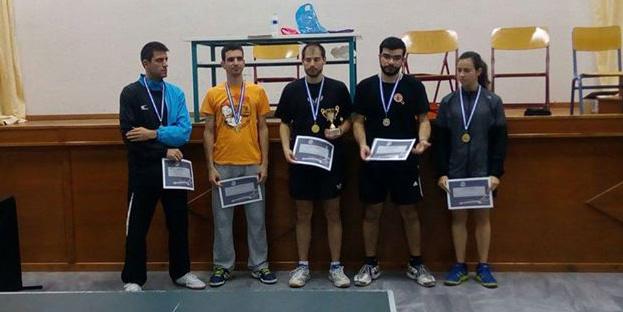 Χρυσό και χάλκινο μετάλλιο κατέκτησε η Αμοργός στο τουρνουά πινγκ-πονγκ της Τήνου