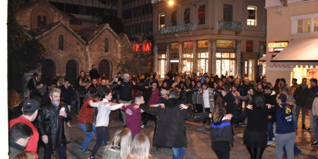Ξεσήκωσαν την Ερμού οι Αμοργιανοί με τους χορούς και τα τραγούδια τους!
