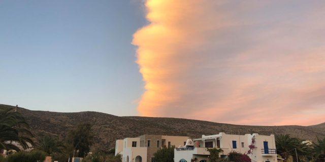 Το σύννεφο που στόλισε τον ουρανό των Καταπόλων!