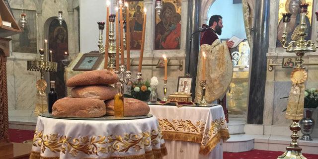 Στα Θολάρια εορτάστηκε σήμερα η εορτή του Αγίου Χαραλάμπους
