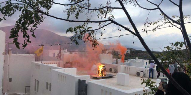 Το κάψιμο του Ιούδα σε Κάτω Μεριά και Αιγιάλη
