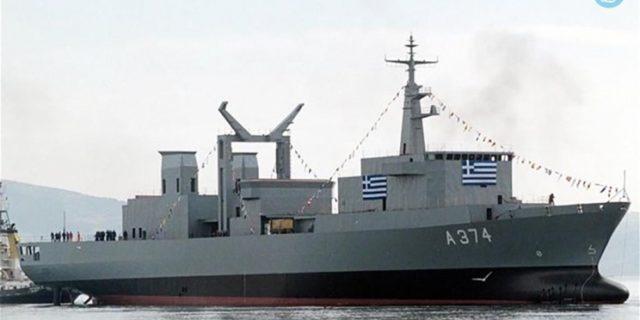 Το πλοίο «ΠΡΟΜΗΘΕΥΣ» του Π.Ν. με κλιμάκιο ιατρών στην Αμοργό 25 & 26 Μαΐου