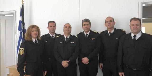 Παράδοση-παραλαβή 6ης Περιφερειακής Διοίκησης Λιμενικού Σώματος-Ελληνικής Ακτοφυλακής (Σύρου)