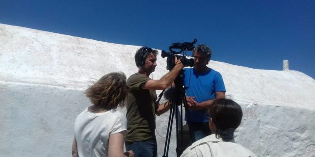 Τα γυρίσματα του γαλλογερμανικού τηλεοπτικού δικτύου Αrte στην Αμοργό