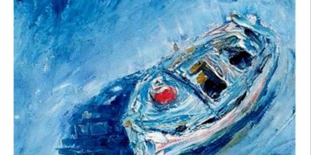 """""""Βλέμματα ψυχής"""": Η έκθεση ζωγραφικής της Στέλλας Σπανού"""