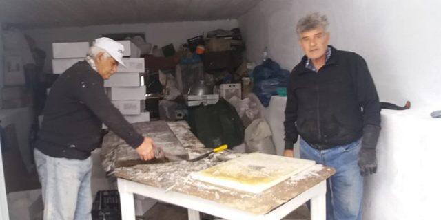 Μαγείρεψαν 380 κιλά μπακαλιάρο και 16 τελάρα ψάρια για την εορτή της Παναγιάς της Χοζοβιώτισσας