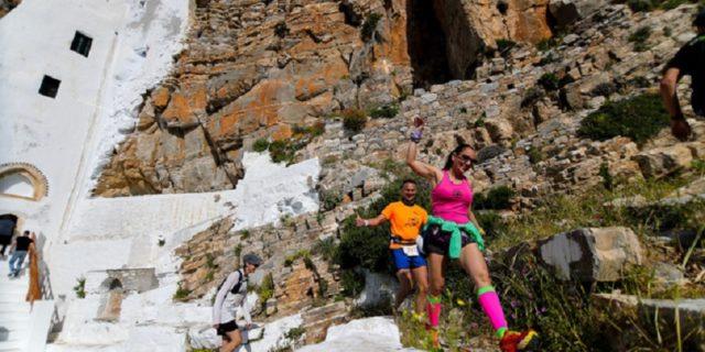 Με επιτυχία στέφθηκε το 3ο Amorgos Trail challenge