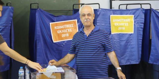 Oμαλά εξελίσσεται η εκλογική διαδικασία στην Αμοργό
