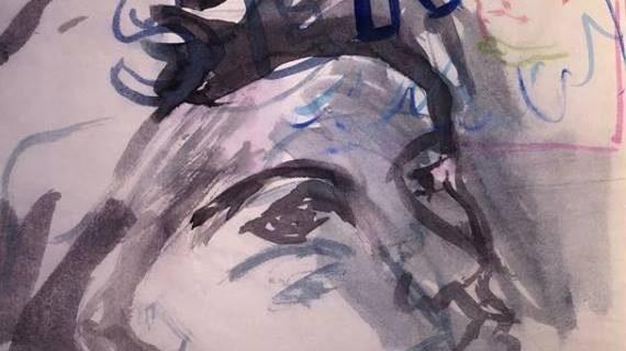 Η ζωγράφος Αριάδνη Βιτάσταλη στο Απέραντο γαλάζιο για καλό σκοπό...