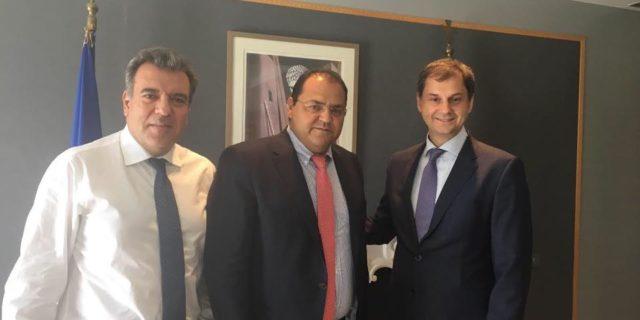 Επισκέψεις σε Υπουργεία πραγματοποίησε στην Αθήνα ο νεοεκλεγείς Δήμαρχος Ελευθέριος Καραΐσκος