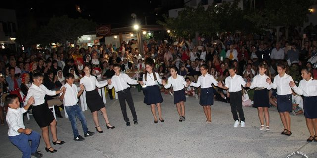 Η Ένωση Καταπολιανών Αμοργού ευχαριστεί όσους συνέβαλαν να πραγματοποιηθεί με επιτυχία η γιορτή της ...